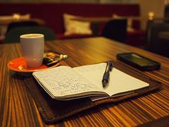 Travel Journal & Espresso CC BY-NC-ND 2.0 (C.C. Chapman)