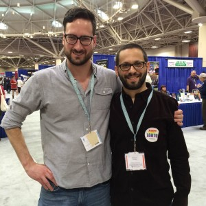 Matthew Landrum and Lawrence Schimel, former Structo author
